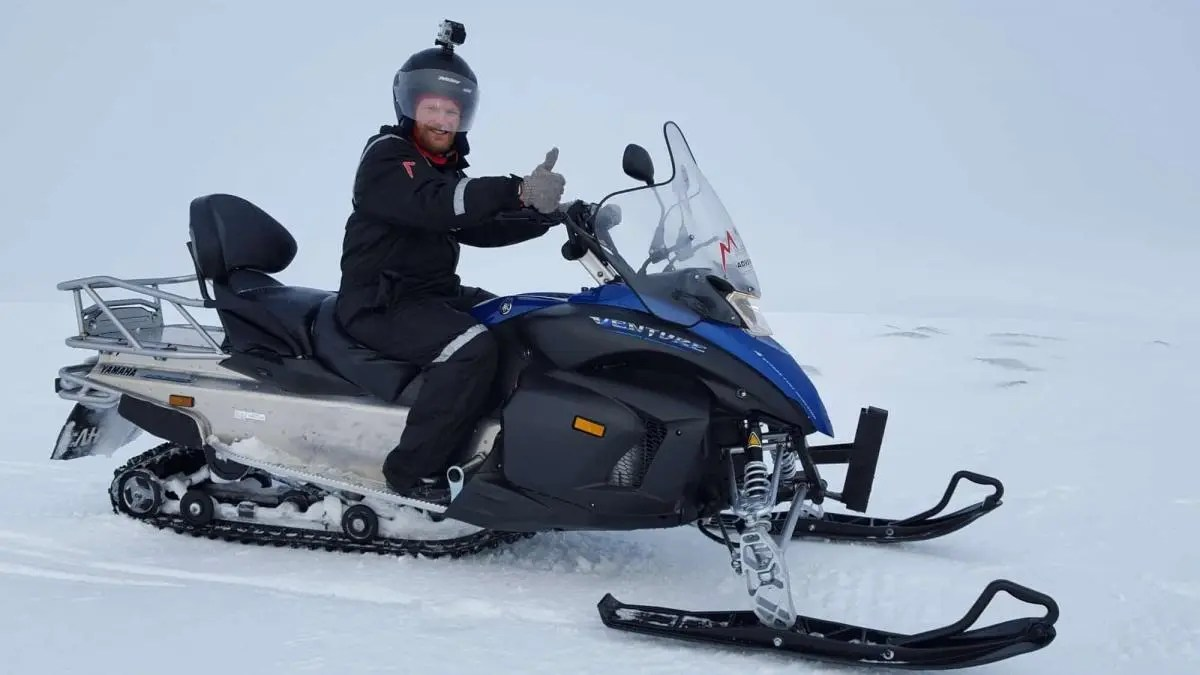 Epic Snowmobiling on Langjökull Glacier – Yet another Iceland adventure