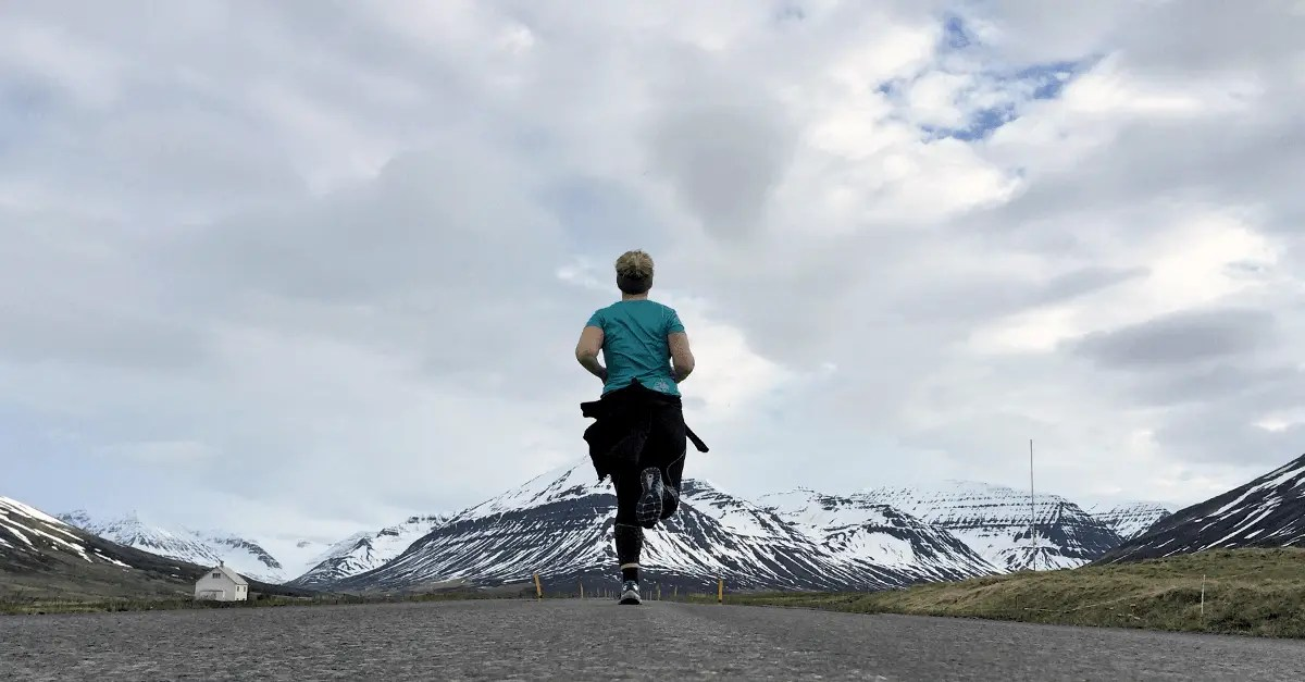Running in Iceland and Loving it