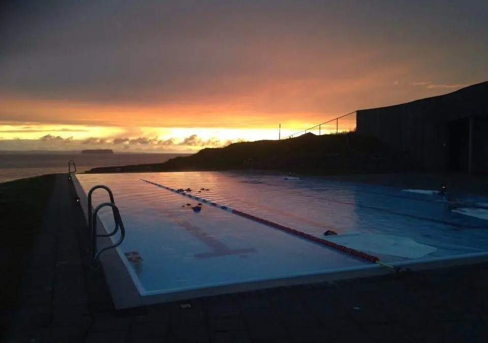The Infinity Pool at the Edge of Iceland