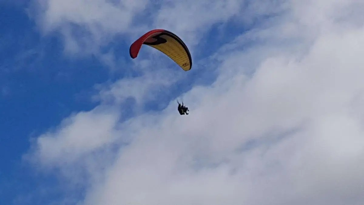 Soar to the Heavens with Tandem Paragliding