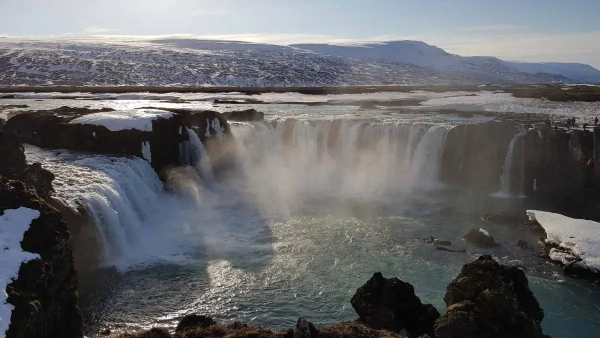 Goðafoss Waterfall – Visit the Waterfall of the Gods