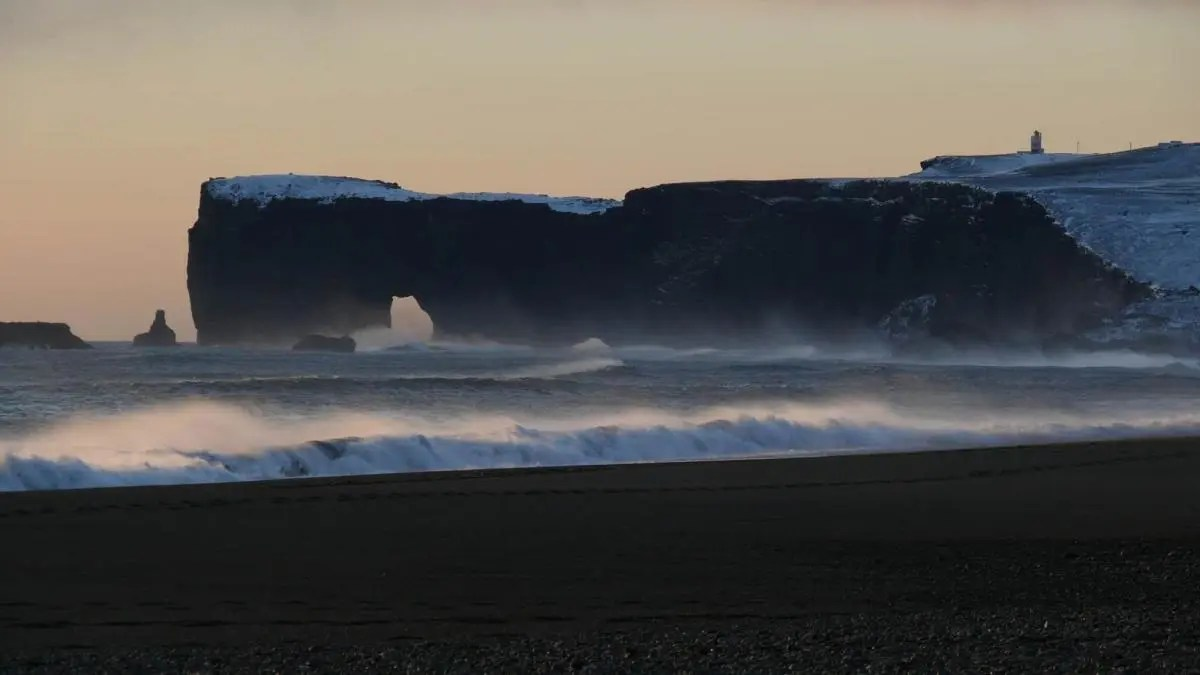 See the Furious Waves at Reynisfjara Black Beach