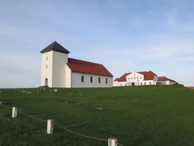 Bessastaðir, the Icelandic presidential residence.