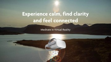 Meditate in Iceland Nature with FLOWVR.