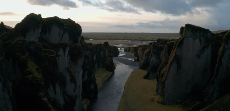 Fjaldrargljufur canyon in Iceland featured in a new 4K drone drone video from Iceland.