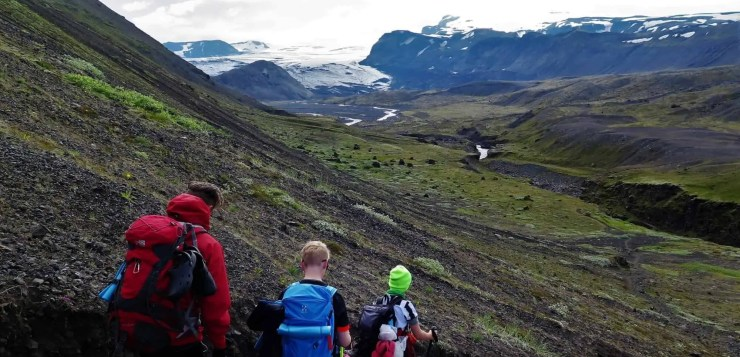 Laugavegur hiking trail takes top spot in the list of most popular hiking trails in Iceland in 2018.