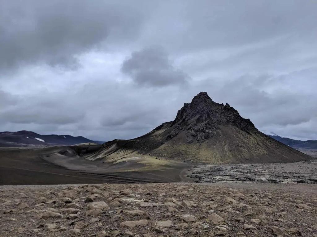 Krakatindur in the Icelandic highlands.