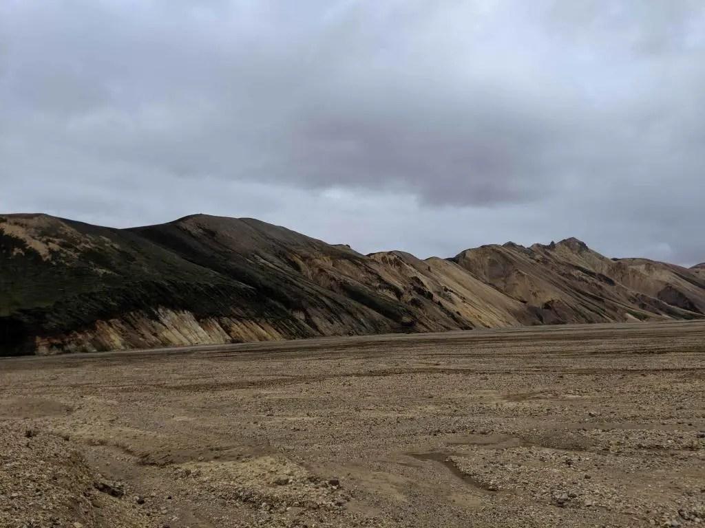 Landmannalaugar rhyolite hills.