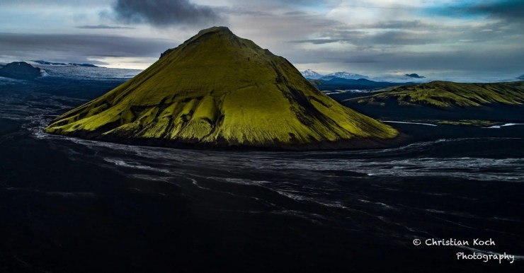Mt. Mælifell in Iceland. Photo by Christian Koch.