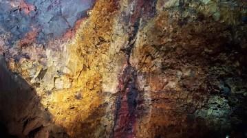 Inside Thrihnukagigur magma chamber in Iceland.