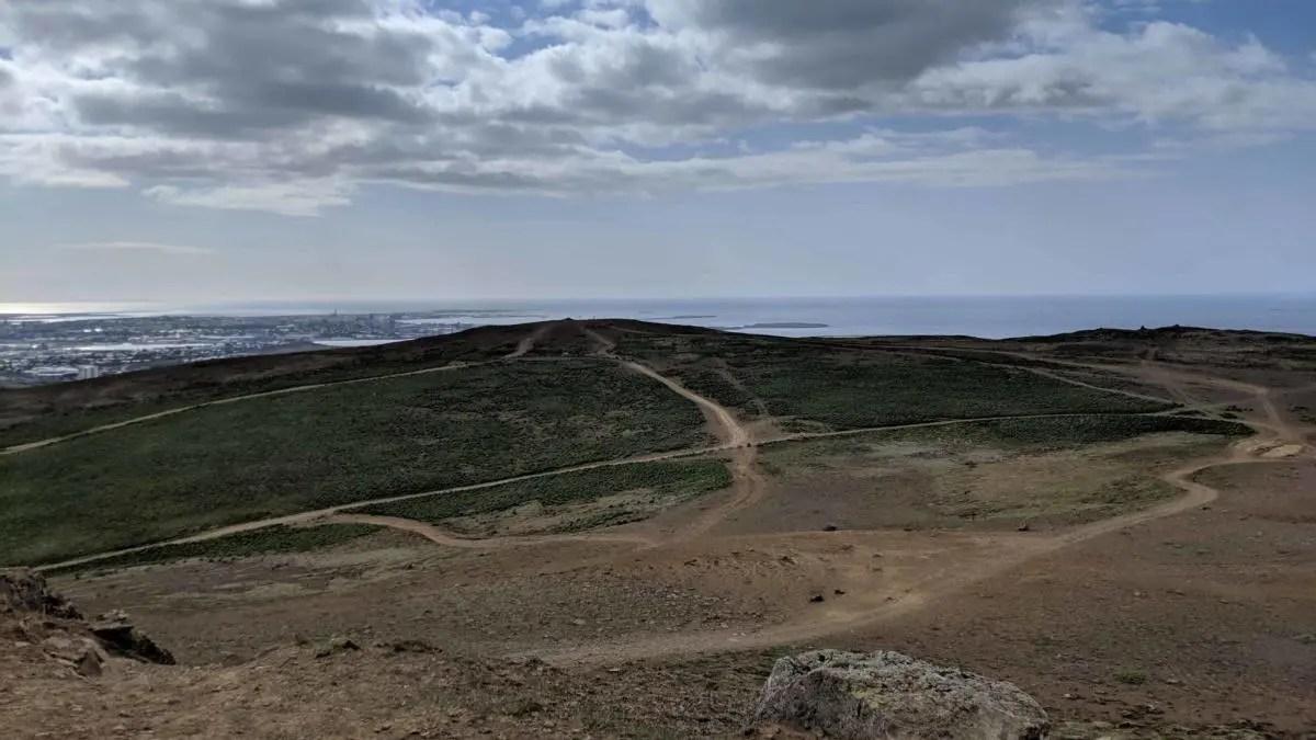 Reykjavik family friendly hiking trail