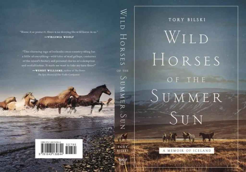Book cover of Wild Horses of the Summer Sun