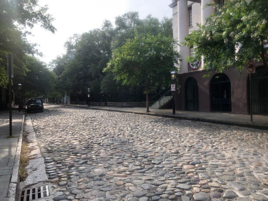 Cobblestone street in downtown. Couldn't do a Charleston Photo Book without cobblestone.