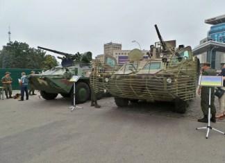 Харьковчанам продемонстрировали технику украинской Армии (ФОТОрепортаж)