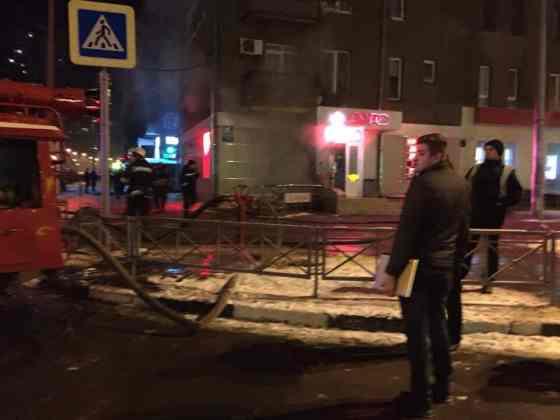 В харьковском кафе прогремел взрыв 2