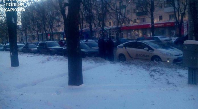 Харьковские патрульные задержали автомобильных воров 1