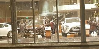 В Харькове второй раз за неделю взорвали гранату возле автосалона
