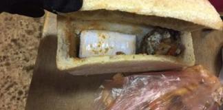 Пёс-пограничник обнаружил наркотики в буханке хлеба