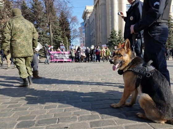В Харькове прошёл феминистический марш 2