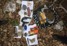 На Киевщине правоохранители обнаружили схрон с оружием и боеприпасами