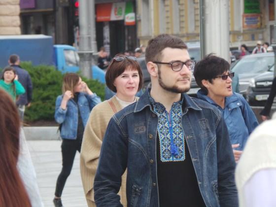 В Харькове прошёл марш вышиванок 9