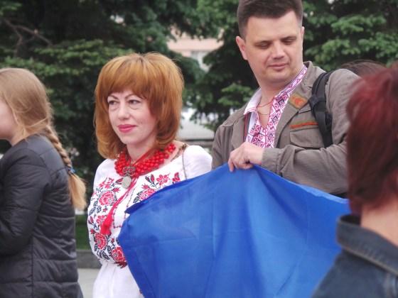 В Харькове прошёл марш вышиванок 10