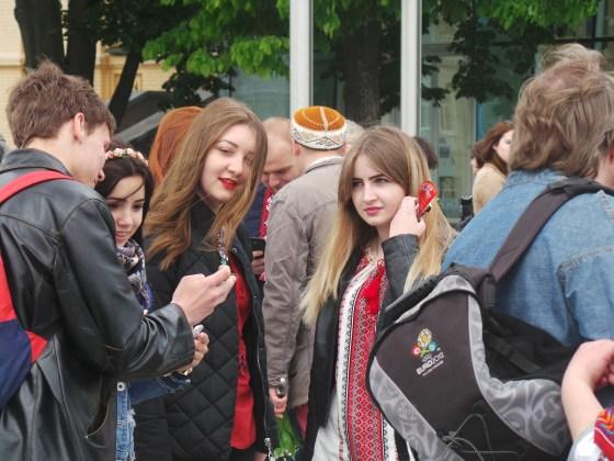 В Харькове прошёл марш вышиванок 15