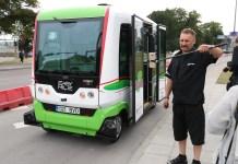 В столице Эстонии запустили бесплатные беспилотные автобусы 1