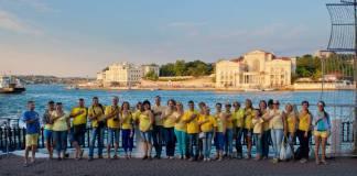 Жители оккупированных территорий отметили День Независимости Украины 1