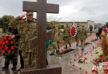 На горе Карачун открыли памятник Небесной Сотне и добровольцам, участвовавшим в освобождении Славянска 1