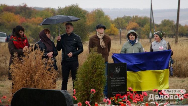 На горе Карачун открыли памятник Небесной Сотне и добровольцам, участвовавшим в освобождении Славянска 8