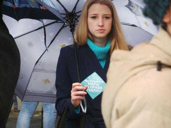 В Харькове митинговали за права животных 6