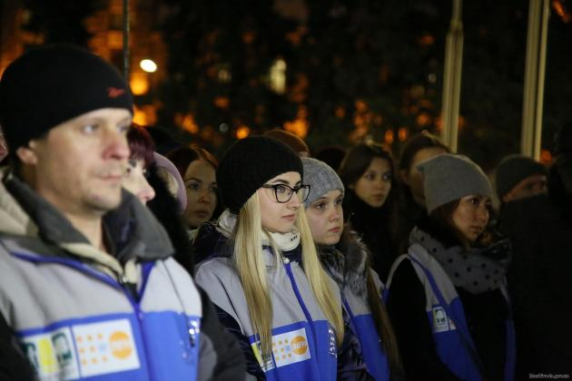 В Харькове состоялся флешмоб против насилия над женщинами 2