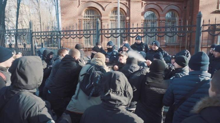 В Харькове разгромили съёмочную площадку сериала о советской военной прокуратуре 3