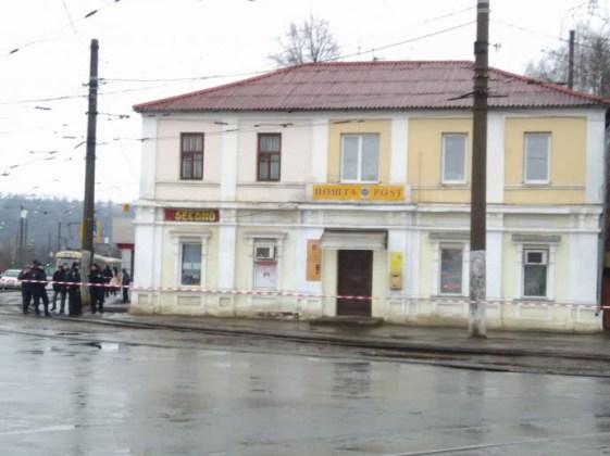 В Харькове неизвестный захватил отделение почты 2