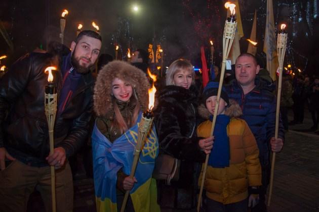 В Украине отпраздновали день рождения Степана Бандеры 5