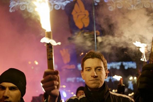 В Украине отпраздновали день рождения Степана Бандеры 15