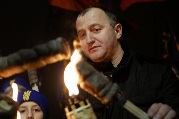 В Украине отпраздновали день рождения Степана Бандеры 20