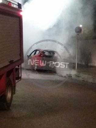 Прошедшей ночью неизвестные подожгли автомобили возле украинского посольства в Греции 3