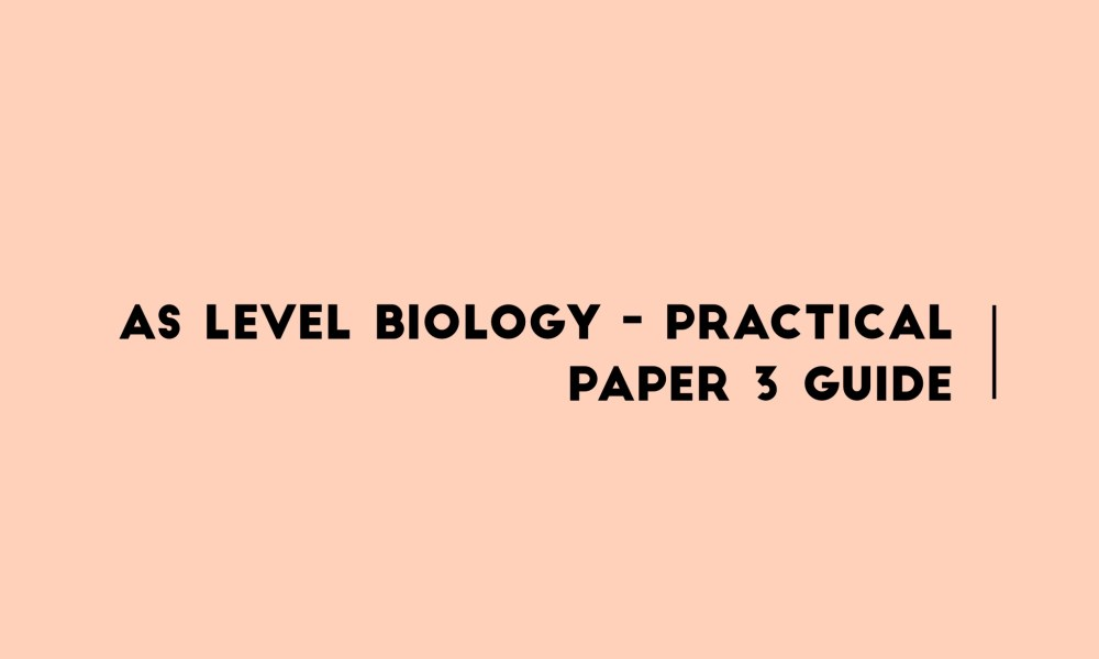 medium resolution of as level biology p3 diagrams