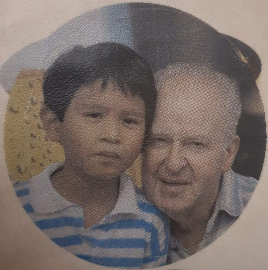 A throwback of me and my Father on Father's Day.
