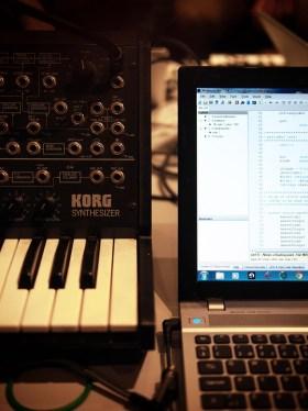 Old meets new at NTNU! Billige rim og ordspill er en viktig del av hverdagen på musikkteknologi.