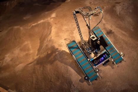 Dette er Mars-roveren vi bygget 5. semester