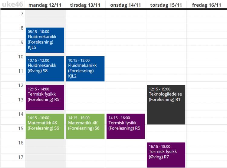 timeplann