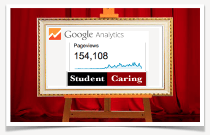 Student Caring: 154,108 Page Views