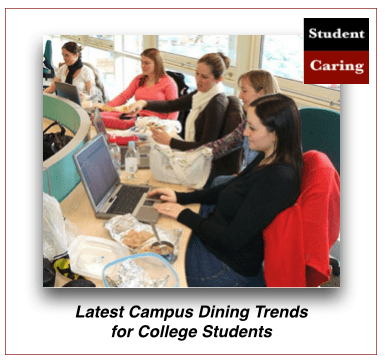 Latest campus dining trends for college students
