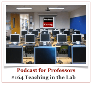 SC 164 Teaching in the Lab