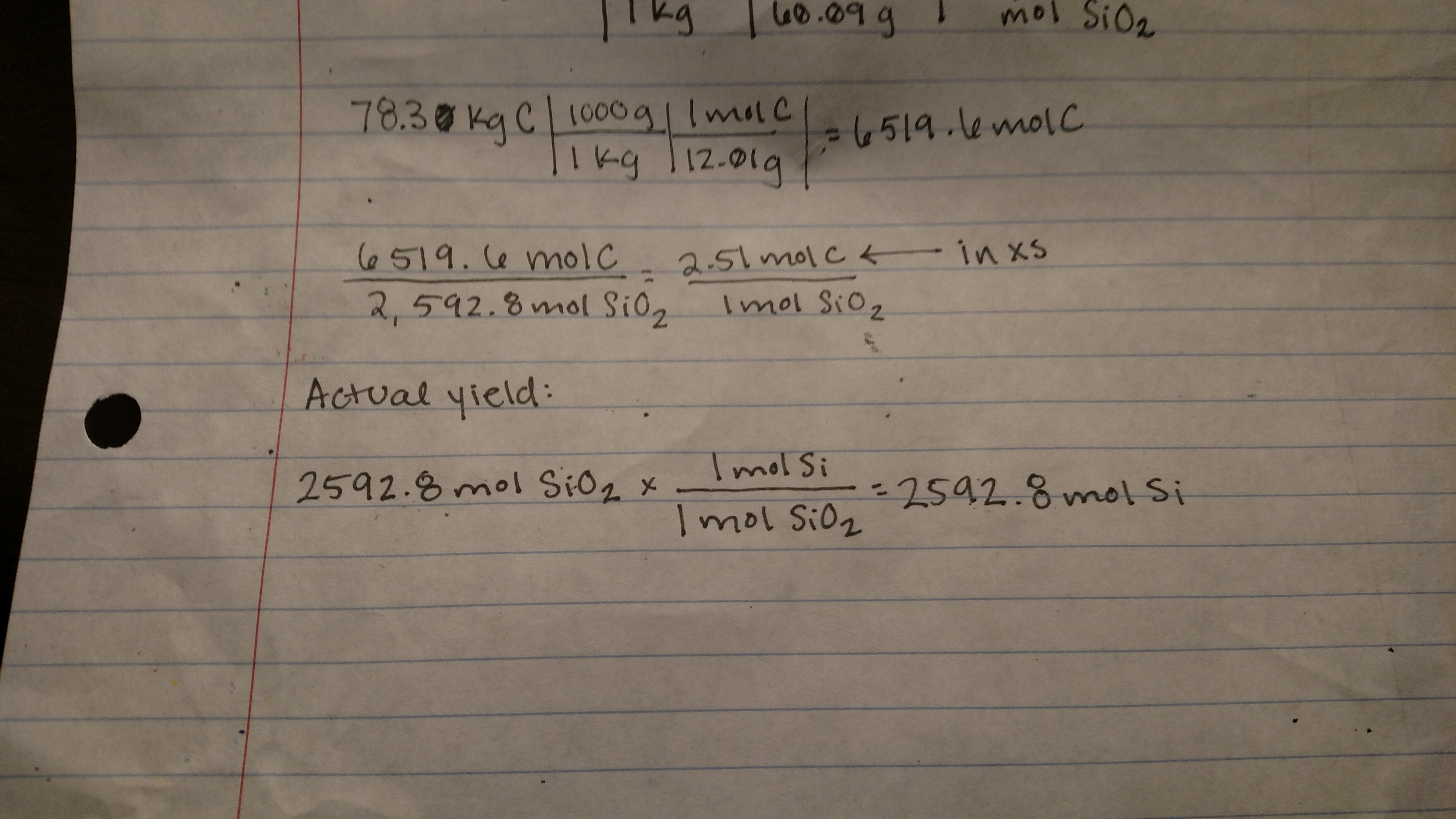 How To Calculate Percentage Yield Of Product