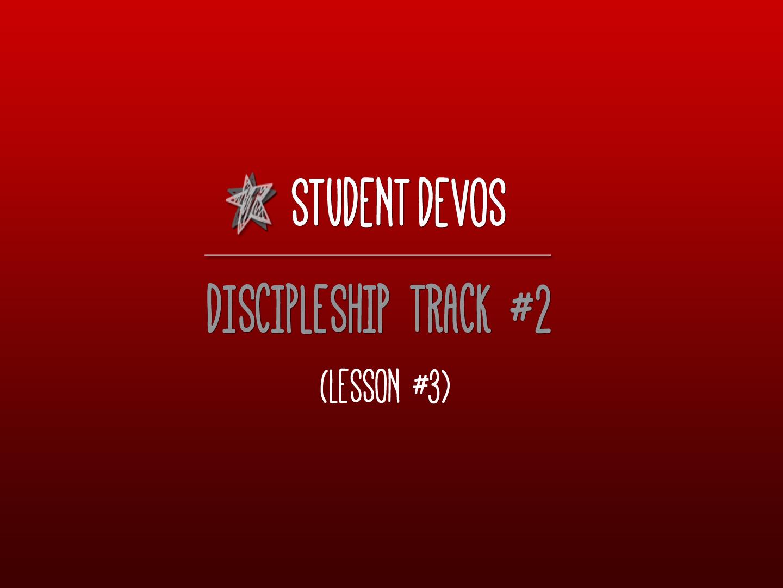 God Is Faithful StudentDevos