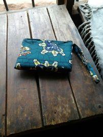 Green Flower clutch